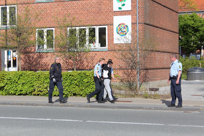 Ballade og anholdelse i Esbjerg