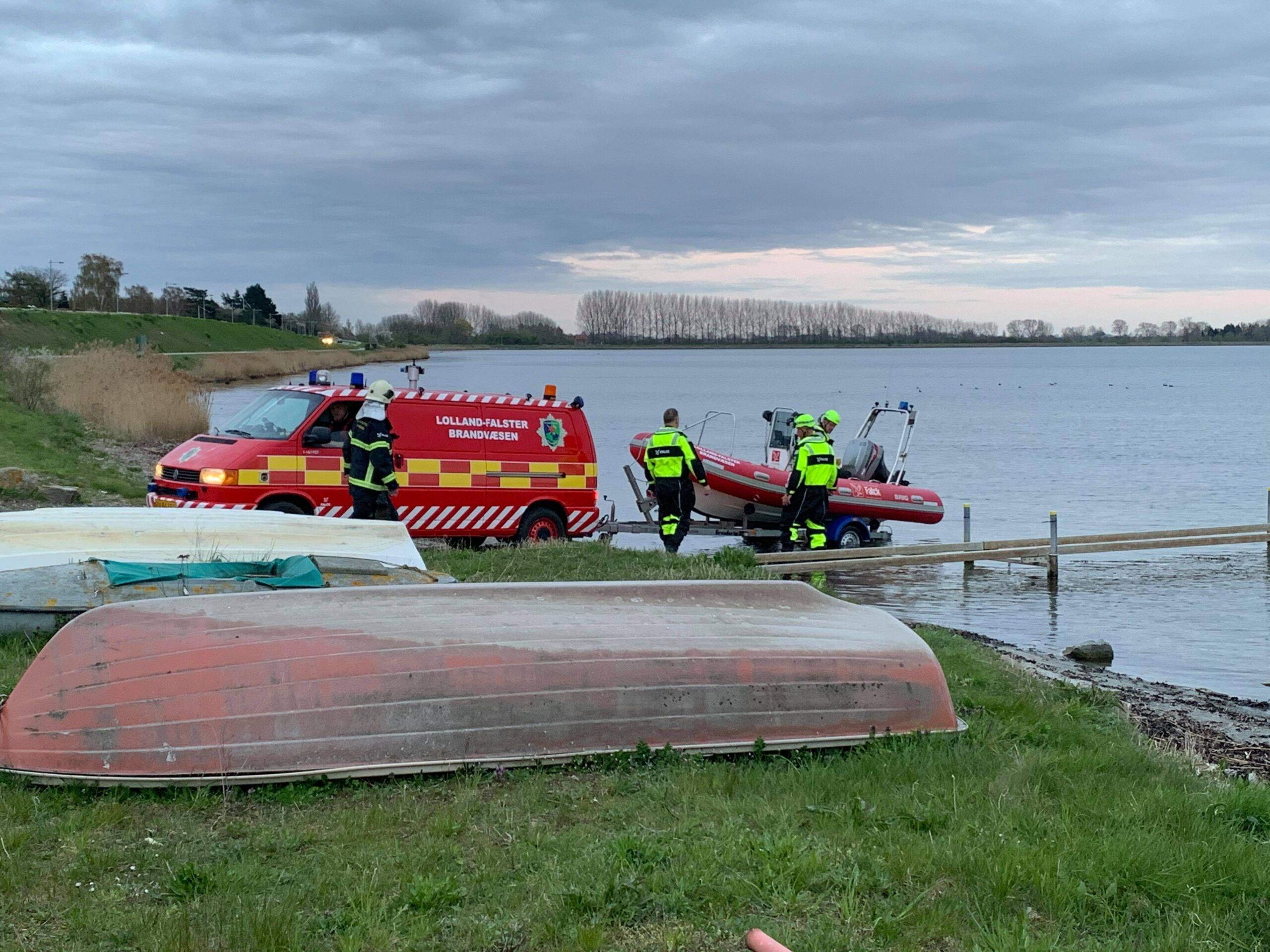 Mulig drukneulykke i Nykøbing Falster