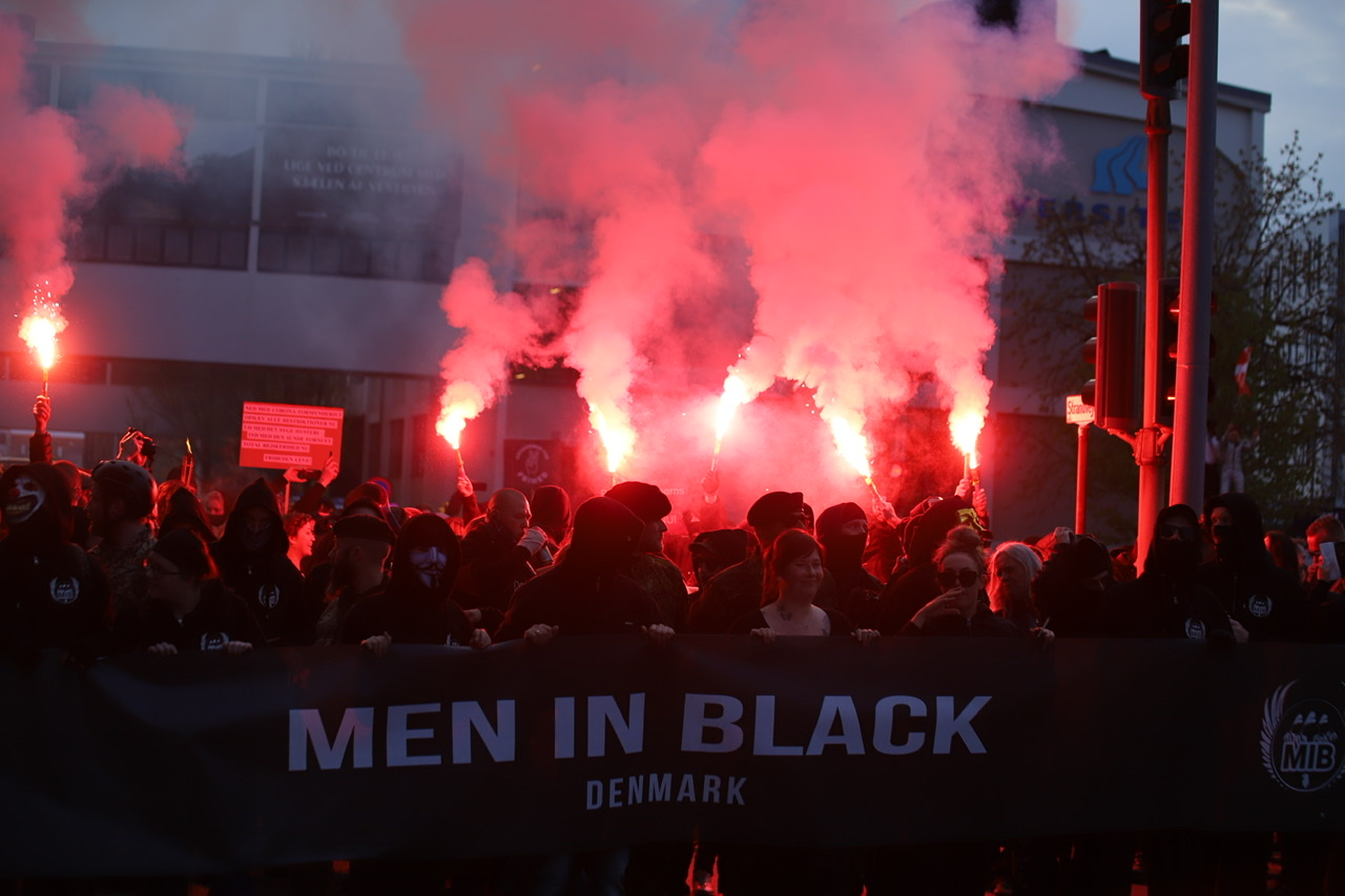 Men In Black demo i Aalborg - stort galleri