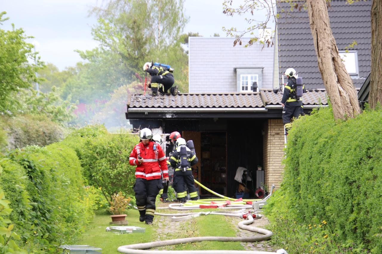 Villabrand i Lyngby-Taarbæk