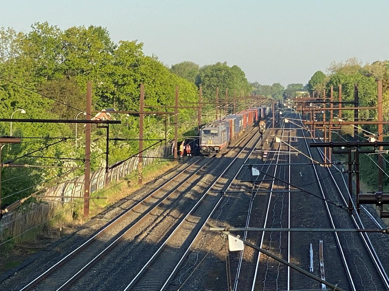 Togtrafik stoppet - personpåkørsel på Brøndbyøster station