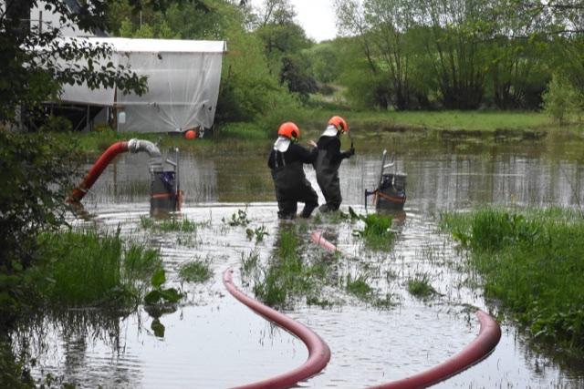 Større oversvømmelse ved Trelde Næs