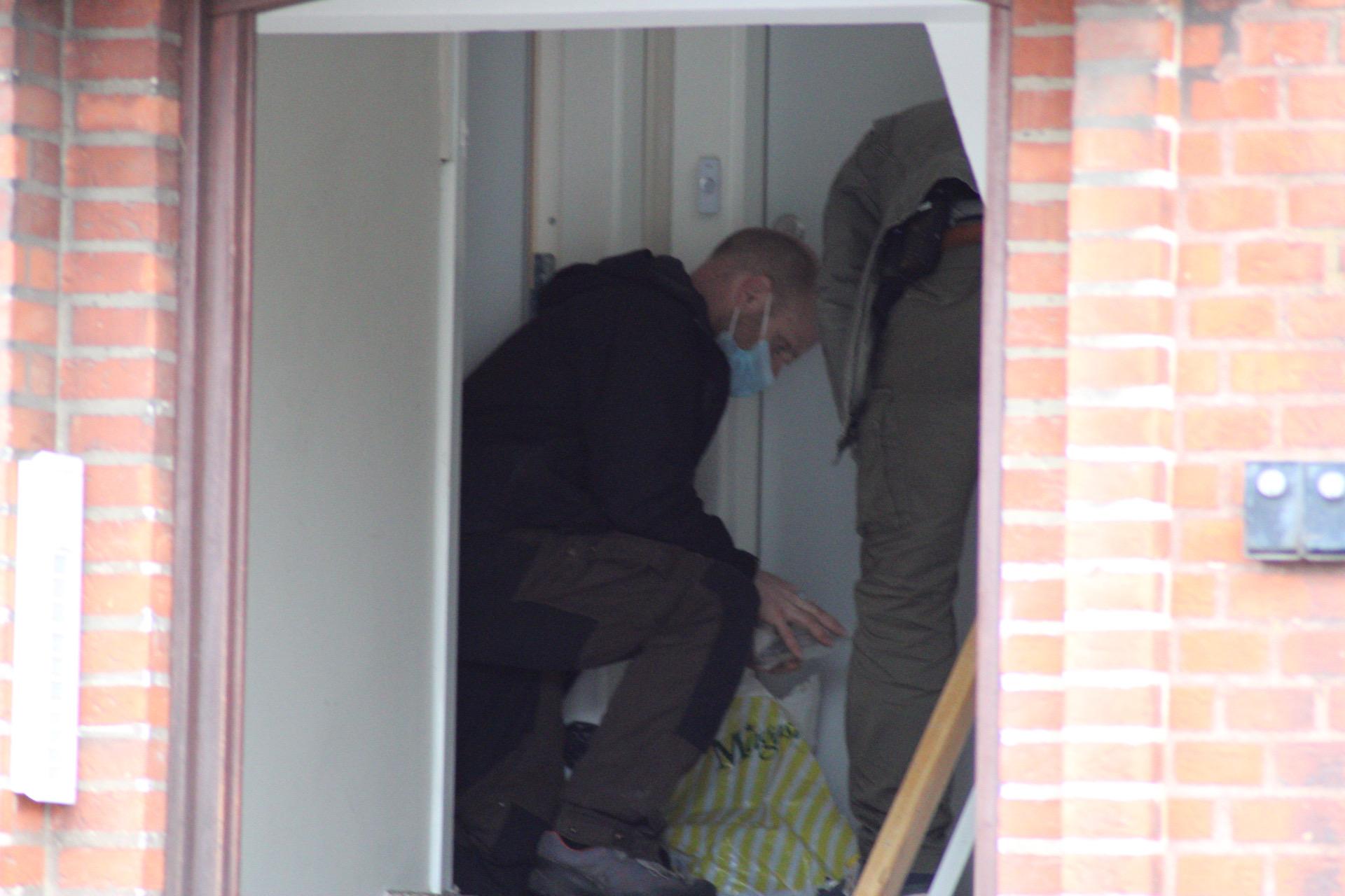 Fem personer anholdt i koordineret politiaktion
