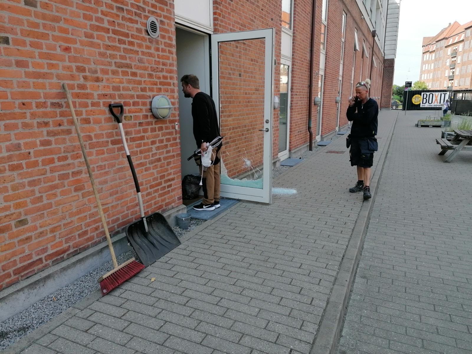 Skyderi på Amager Fælledvej i København
