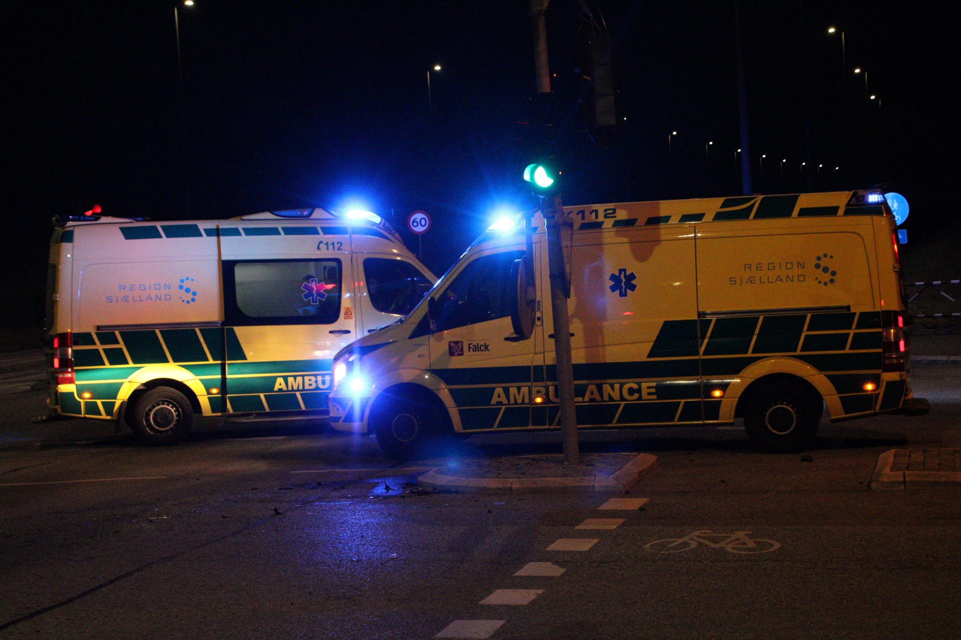 Uheld i Roskilde natten til søndag