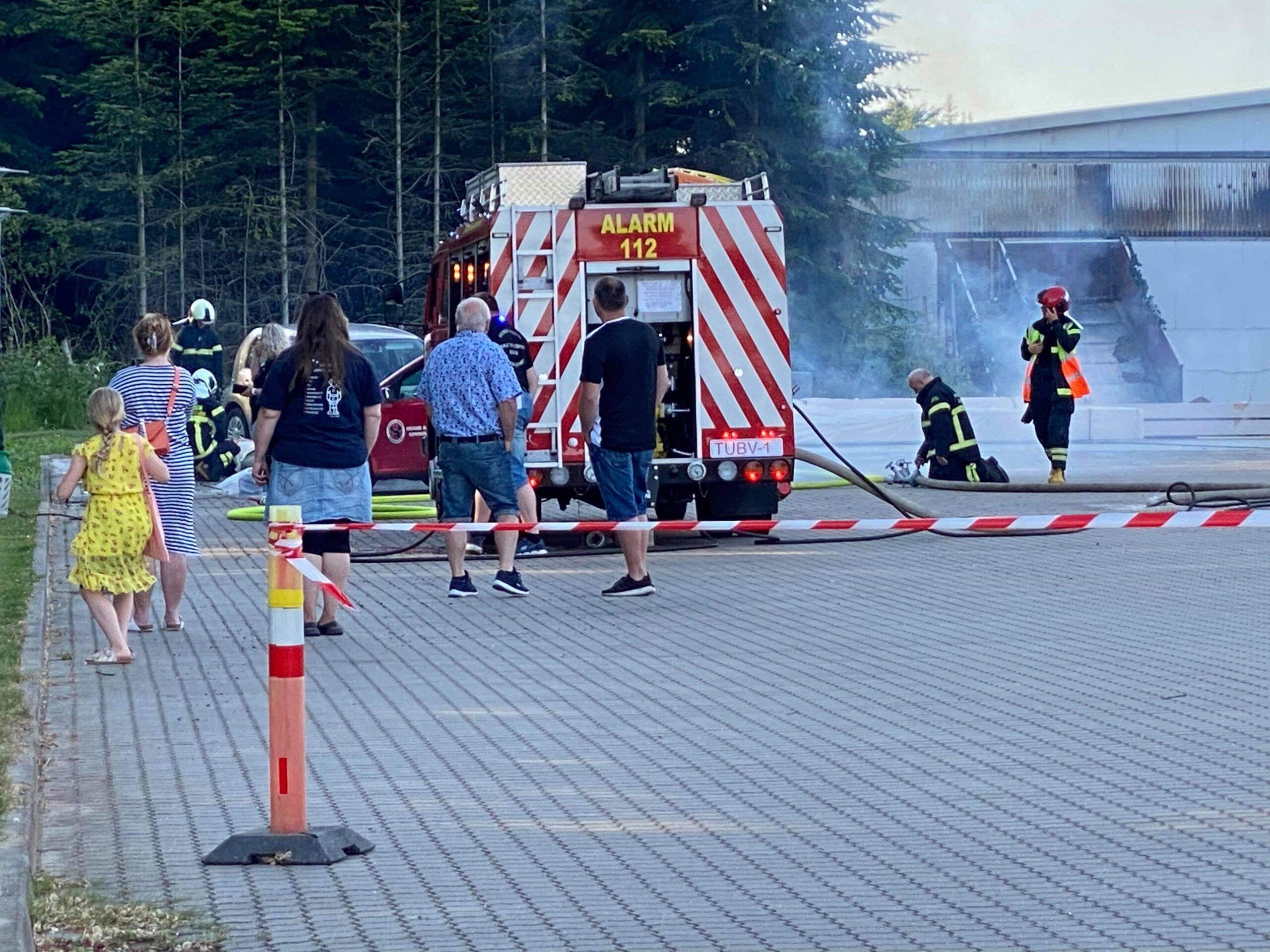 Brandvæsnet holder øvelse i Tønder