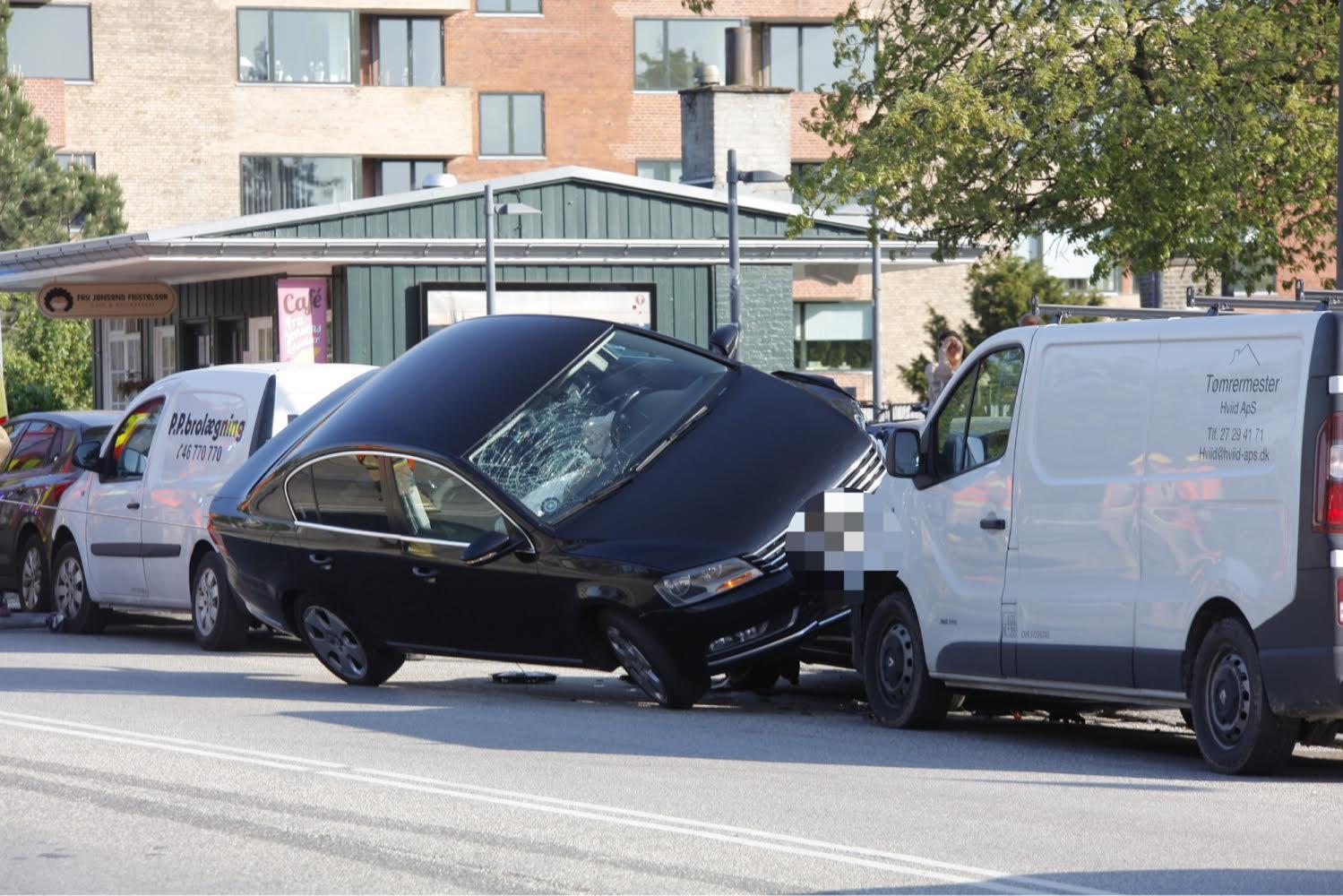 Vanvittigt uheld ved Grøndal station i København