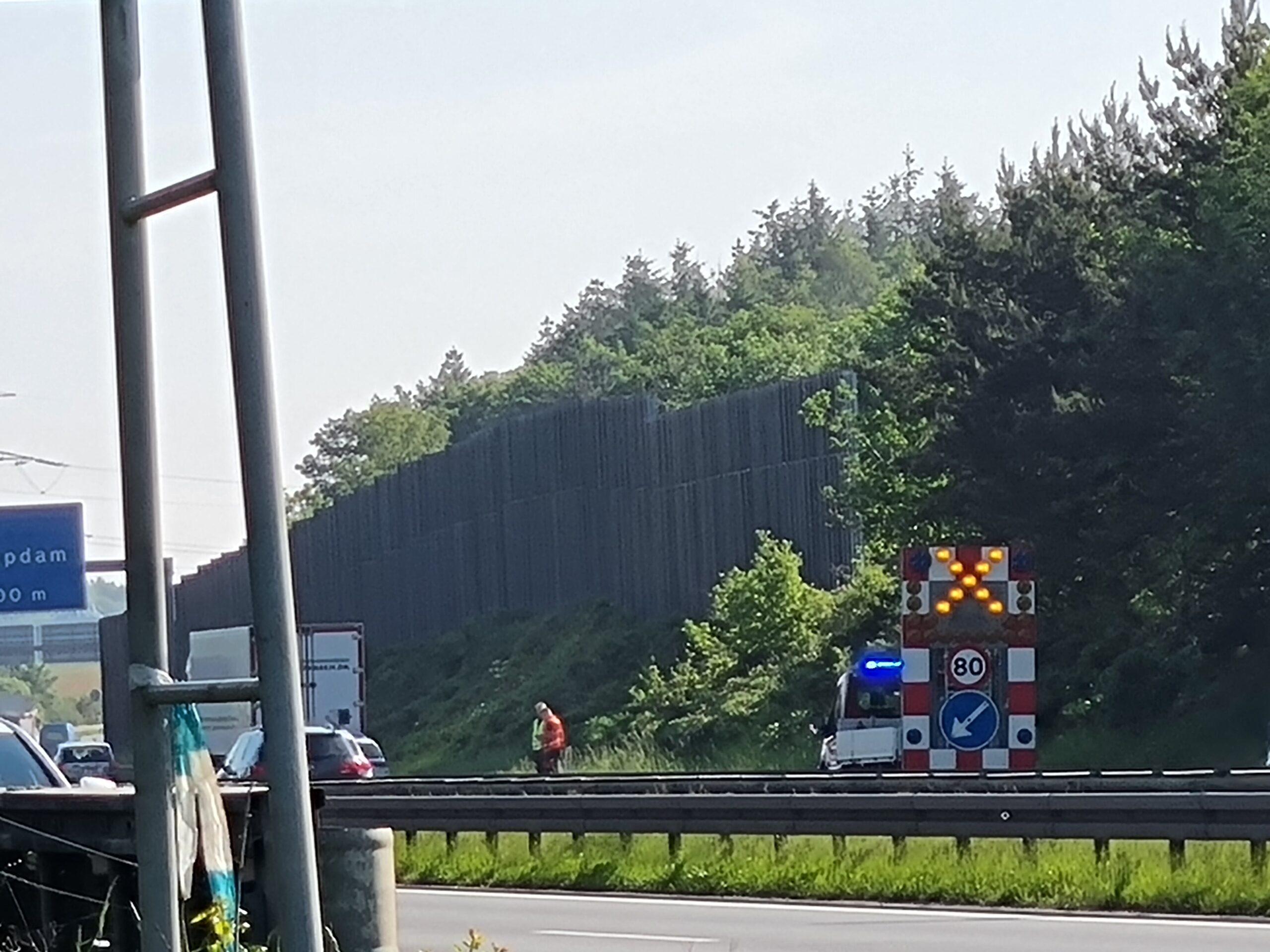 Uheld Sønderjysk motorvej ved Kolding