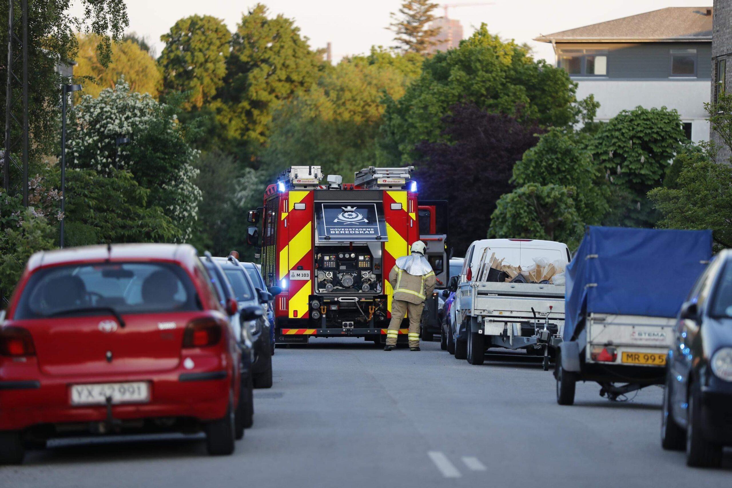 Mindre skraldespands brand i København