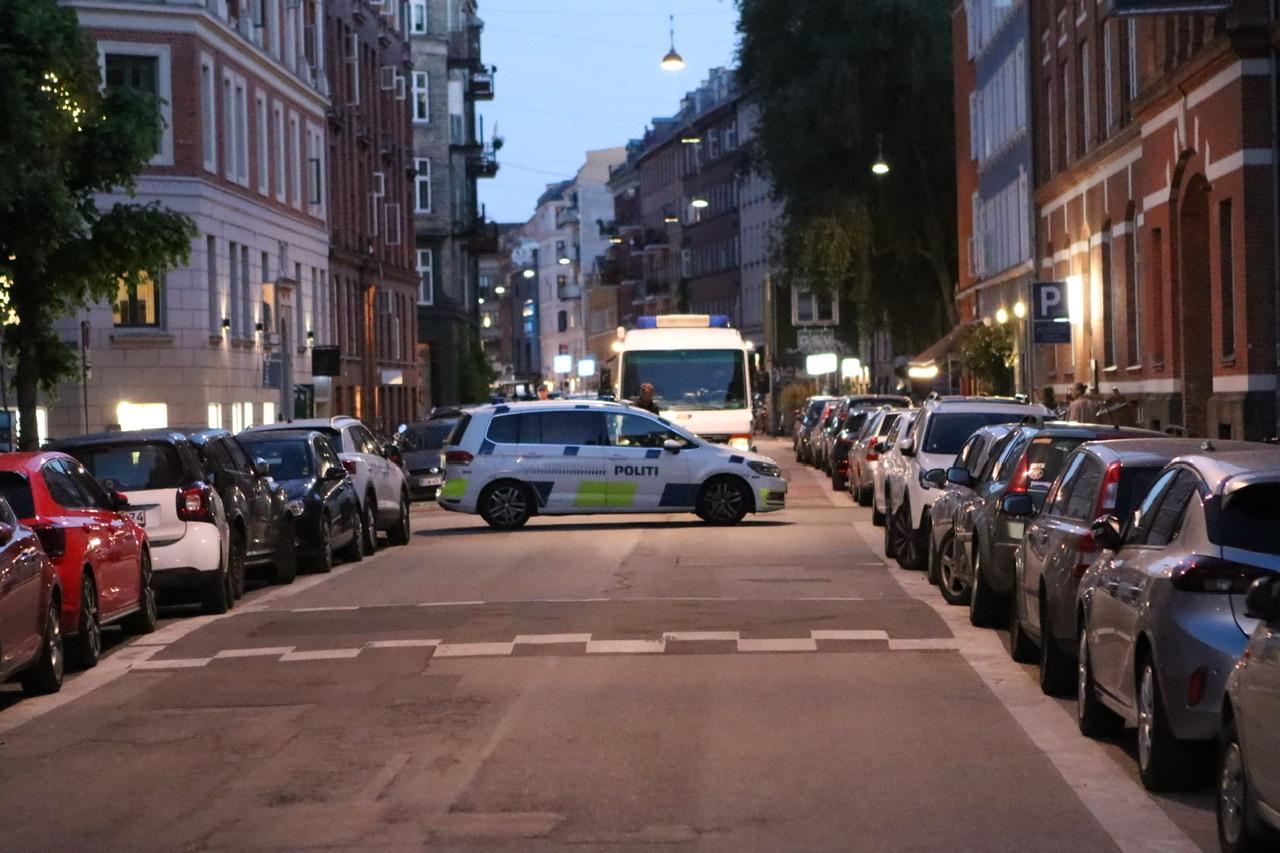 Bombe ved fængsel i København