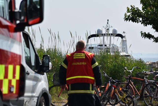 Melding om drukneulykke i Humlebæk