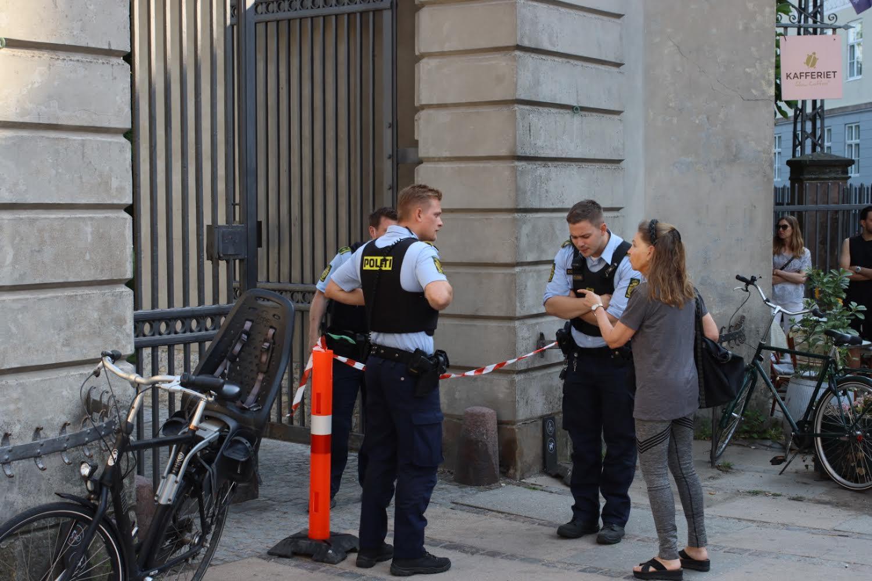 Anmeldelse om voldtægt i Kongens have - politiet er på stedet