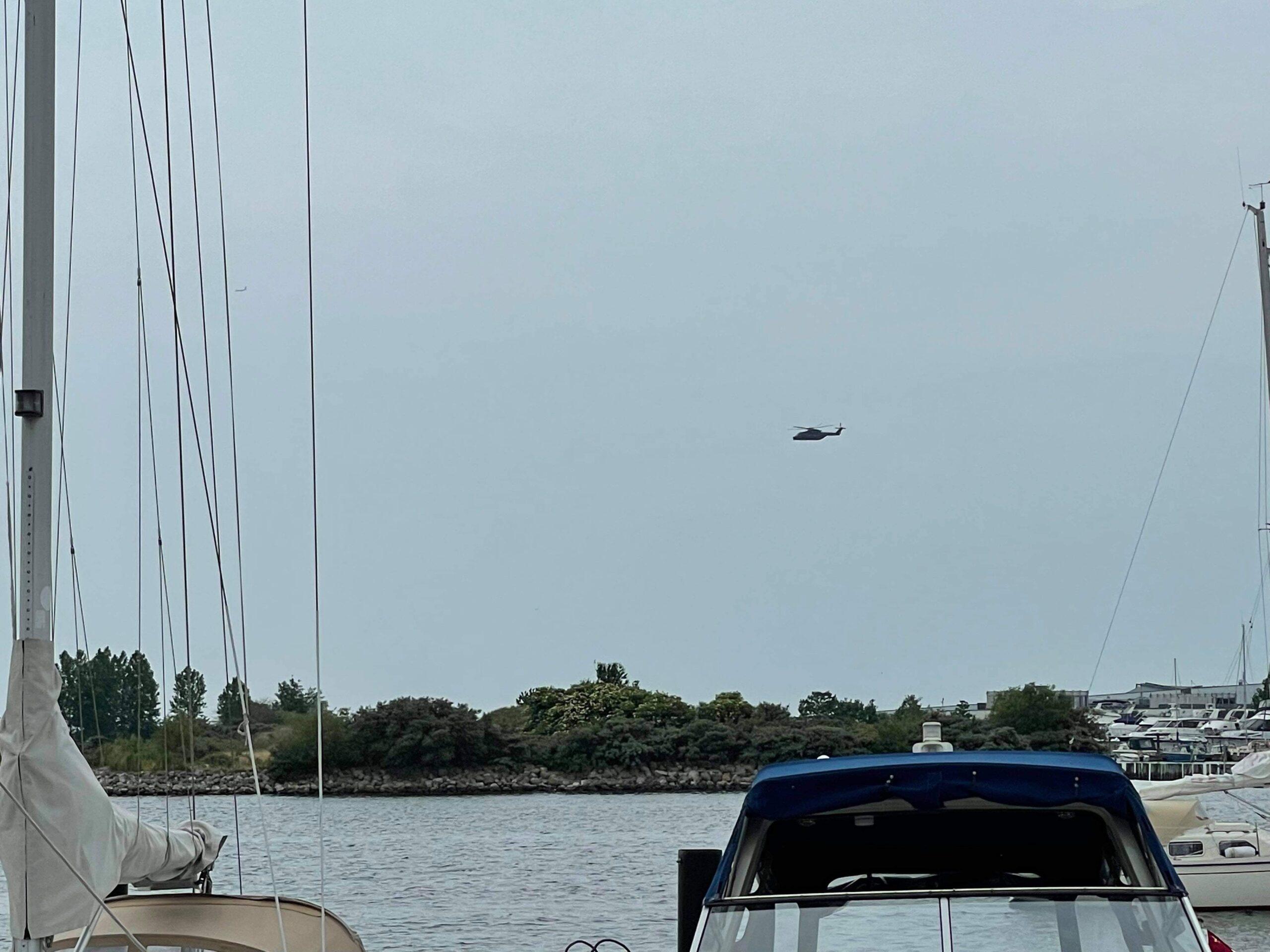 Melding om drukneulykke ved Brøndby strand
