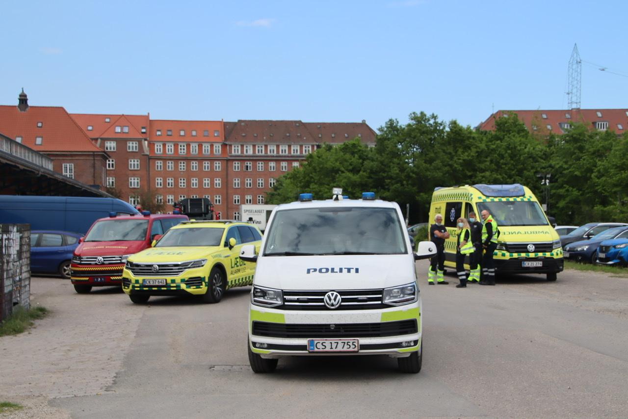 Større afspærring og politi ved banen i Aarhus