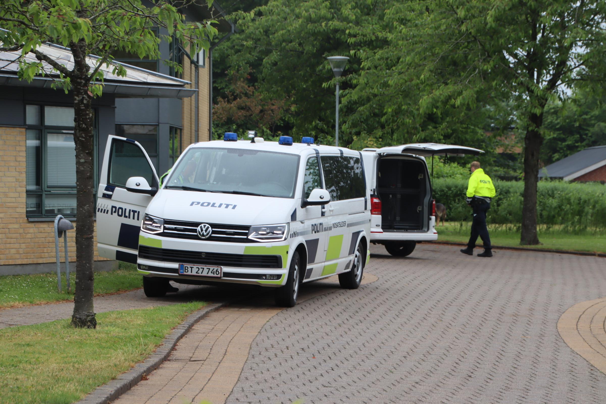 Større politiaktion i Højbjerg - Aarhus