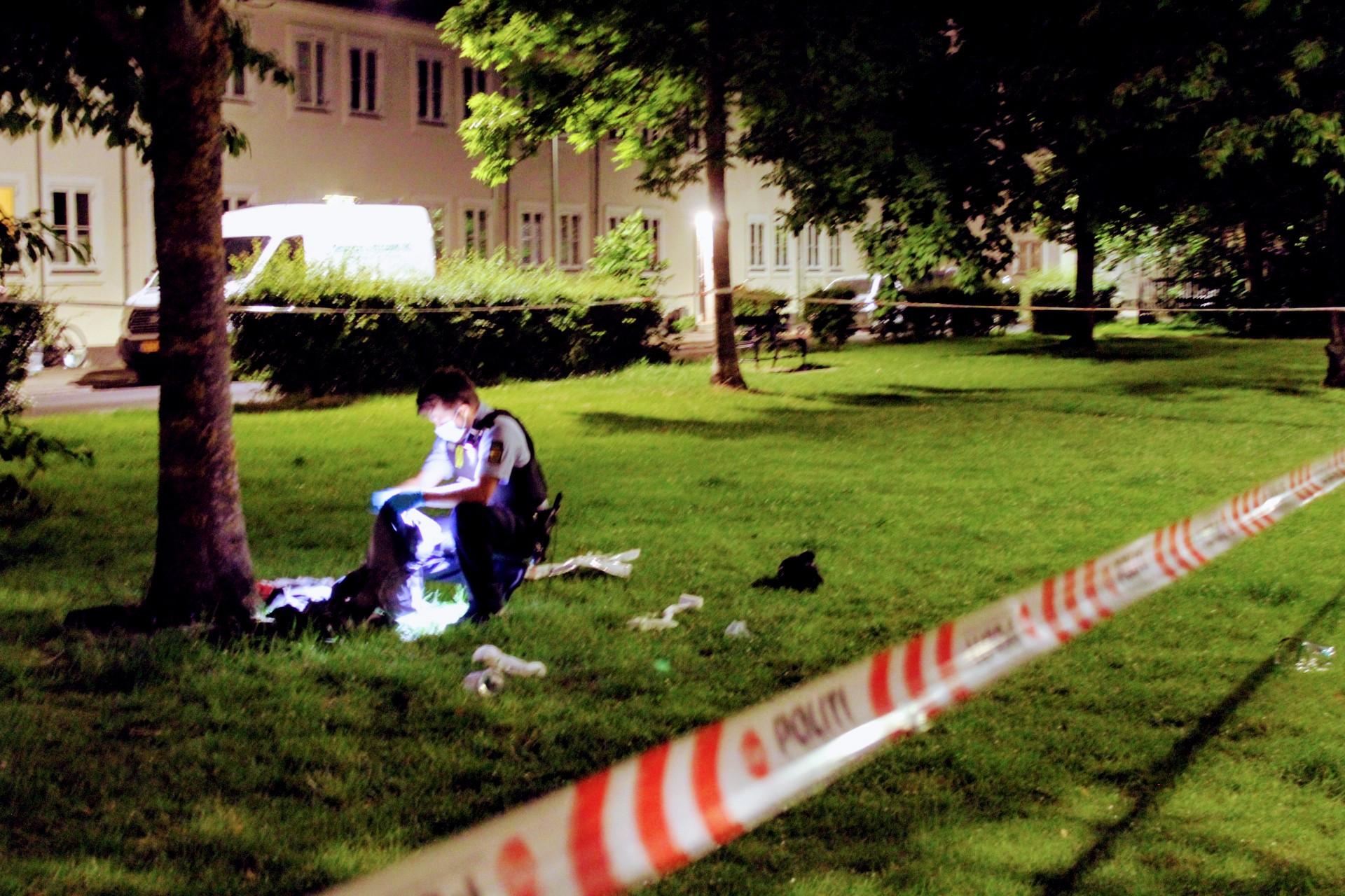 Knivstikkeri i København - ung mand såret