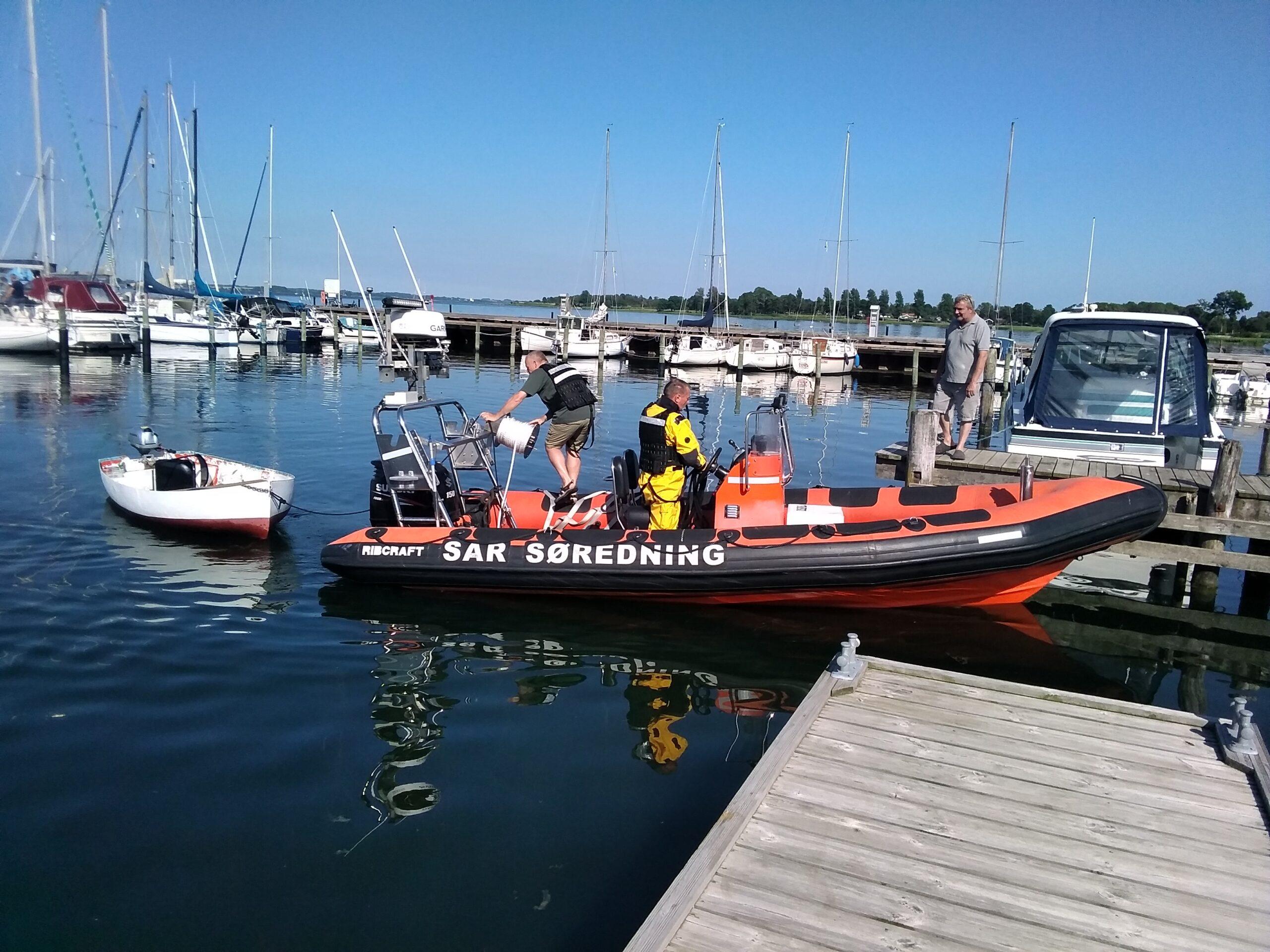 Mand faldet over bord i Stubbekøbing