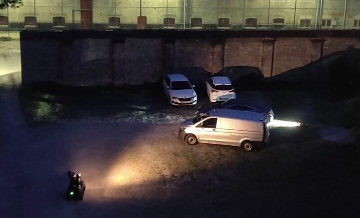 Bilbombe detoneret ved Blegdammens fængsel