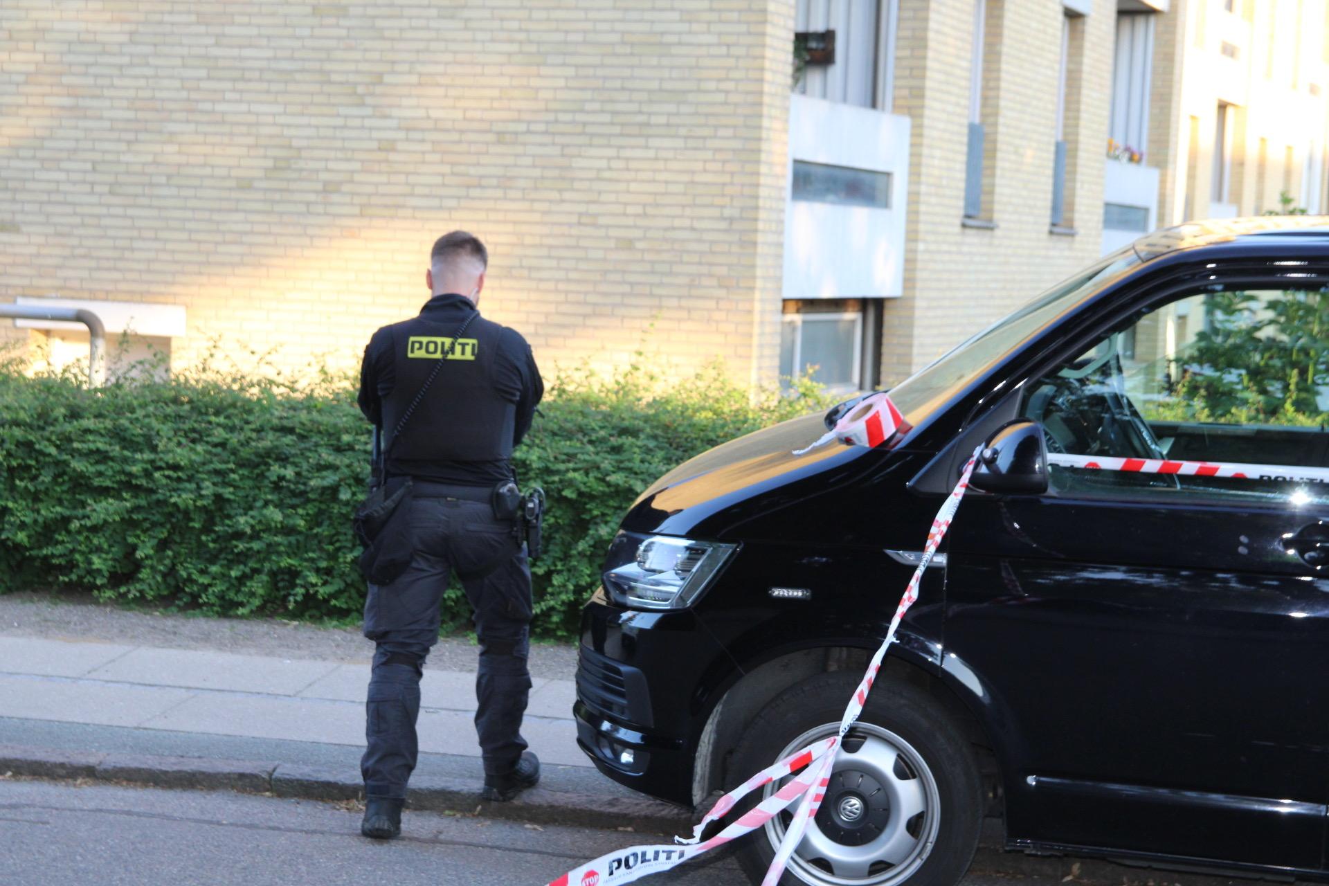 Politiet talstærkt til stede i Ballerup