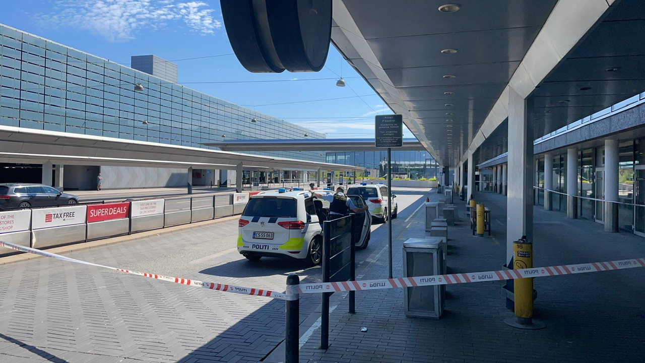 Københavns lufthavn afspærret - stor politiaktion igang