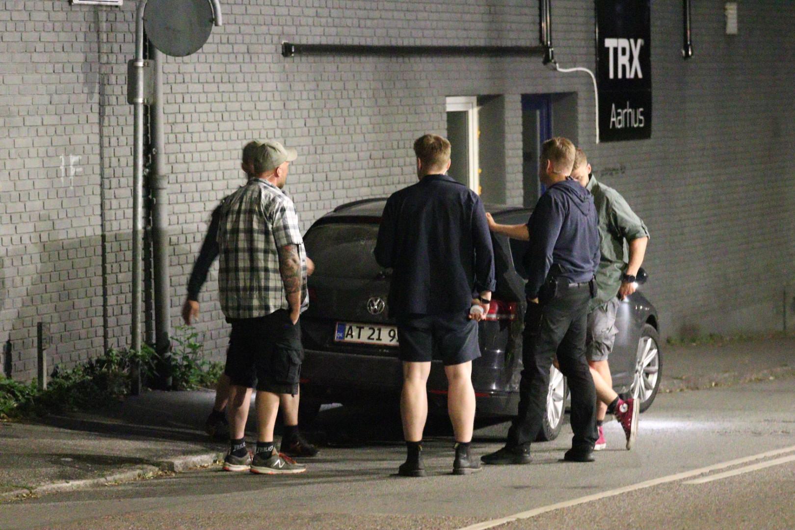 Menneskejagt igang i Aarhus