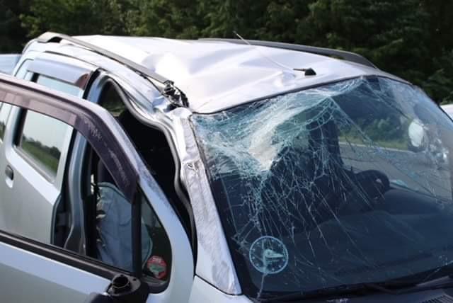 Færdselsuheld i Bindslev - lægehelikopter ankommet
