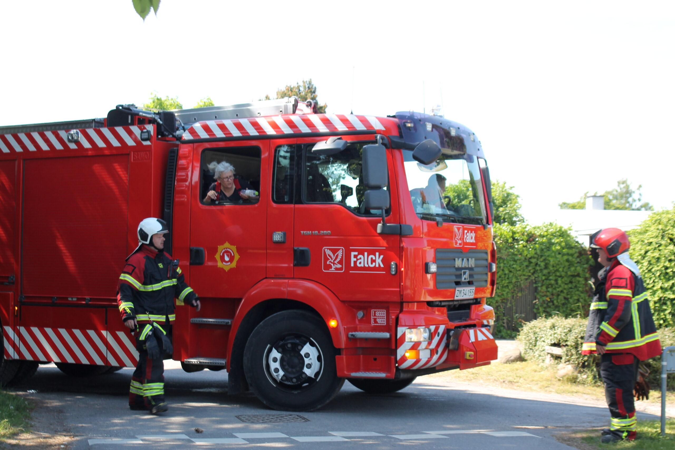 Mindre brand i Solrød