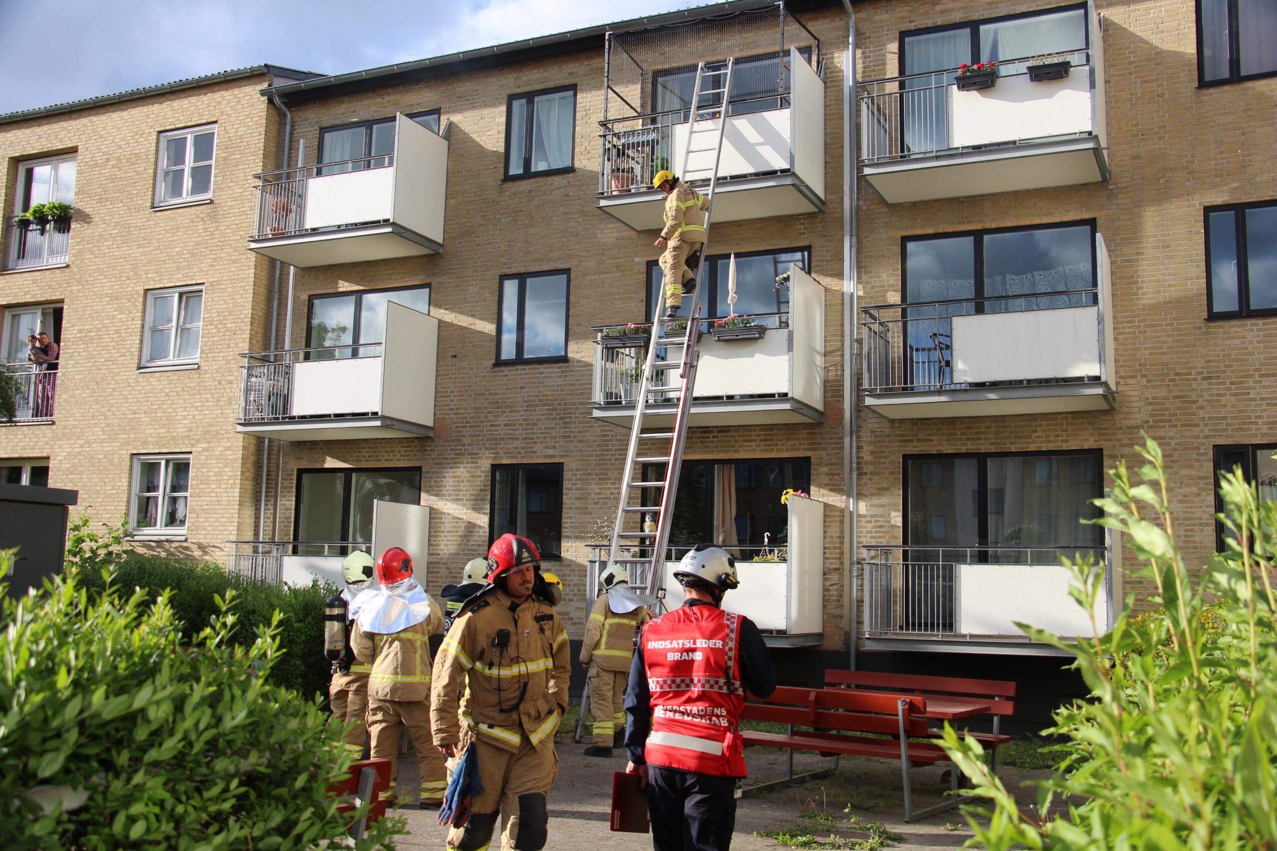 Lejlighedsbrand i Sydhavnen