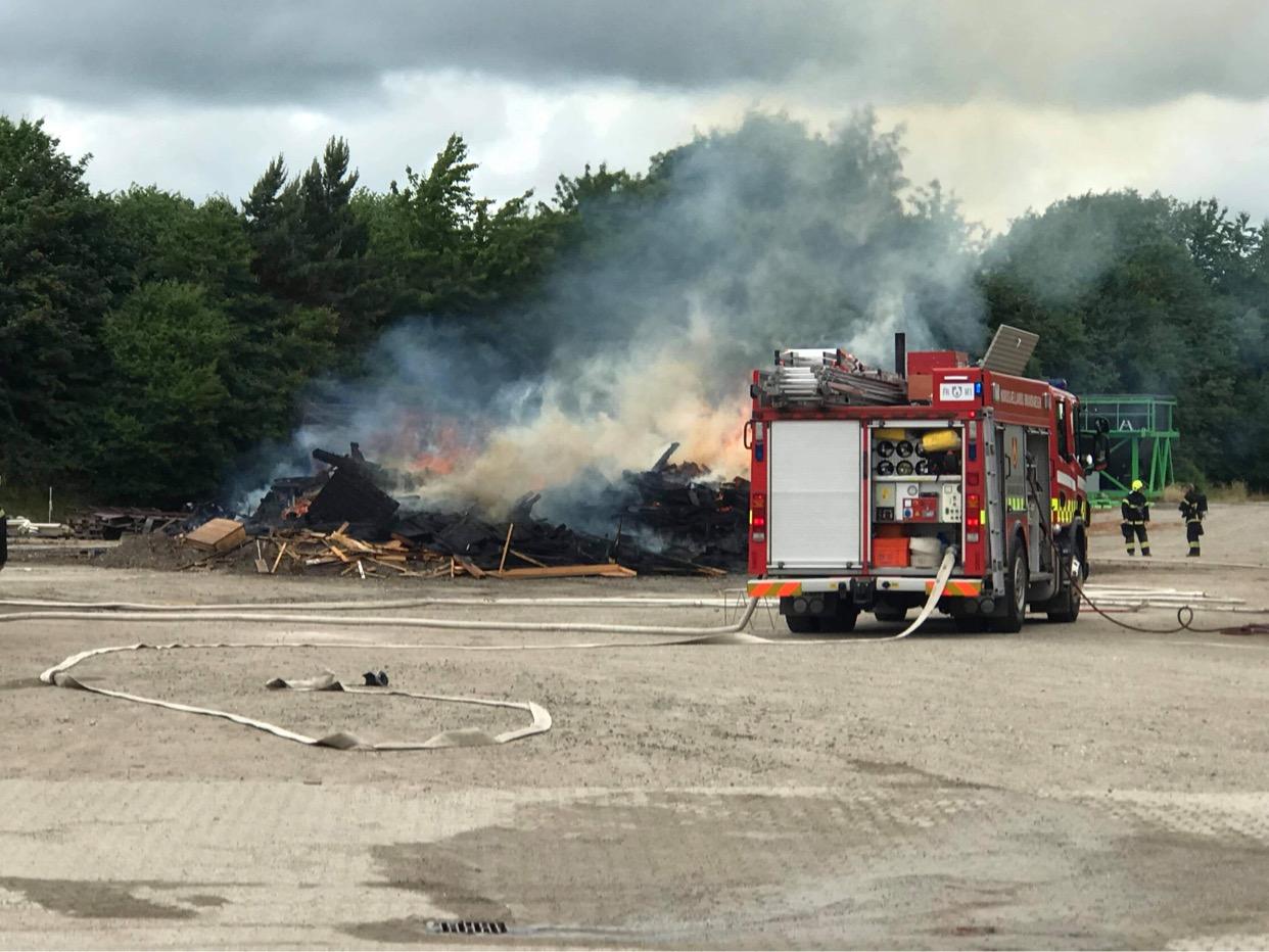 Flere brande på samme adresse i Humlebæk