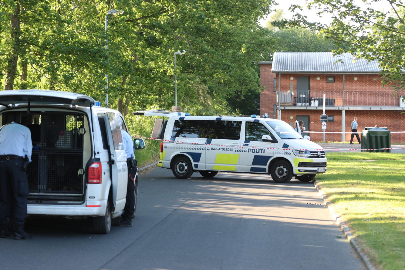 Knivstikkeri i Viby J  - 23 årig mand stukket ned