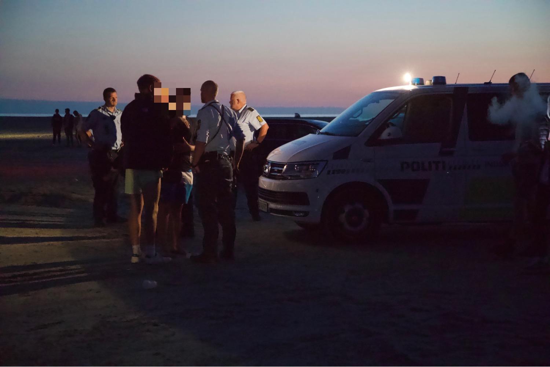 Slåskamp på Rømø - politiet afhører vidner