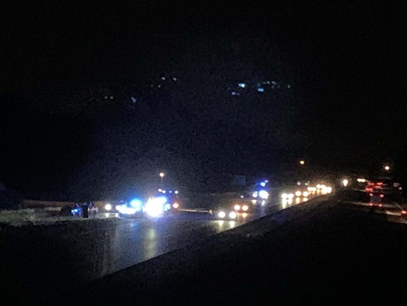 Færdselsuheld på Køgebugtmotorvejen