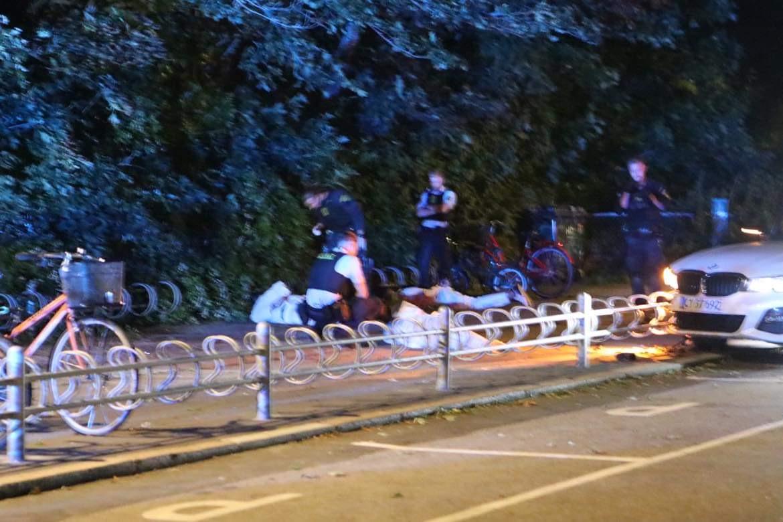 Voldsom biljagt - politiaktion og anholdelser