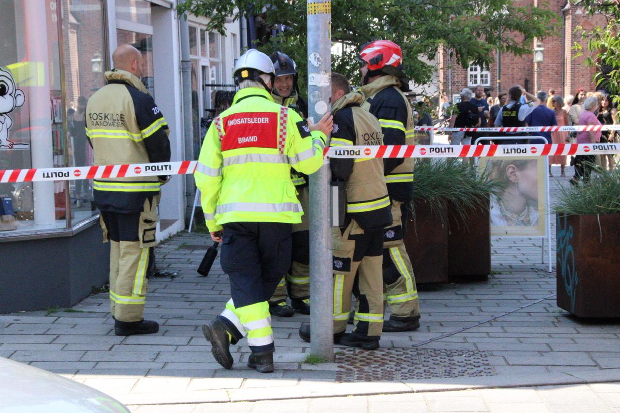 Ild i elskab i Roskilde - butikker uden strøm