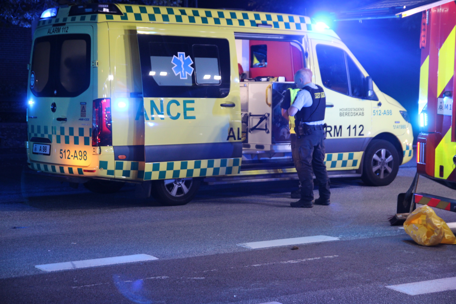 Alvorlig trafikulykke i København