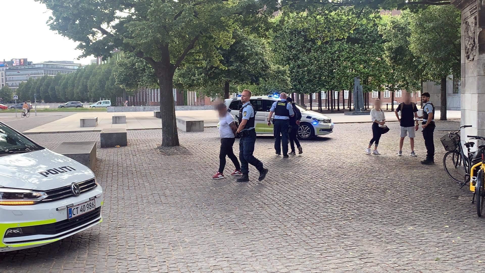 Flere anholdte ved politiaktion i Ørstedparken