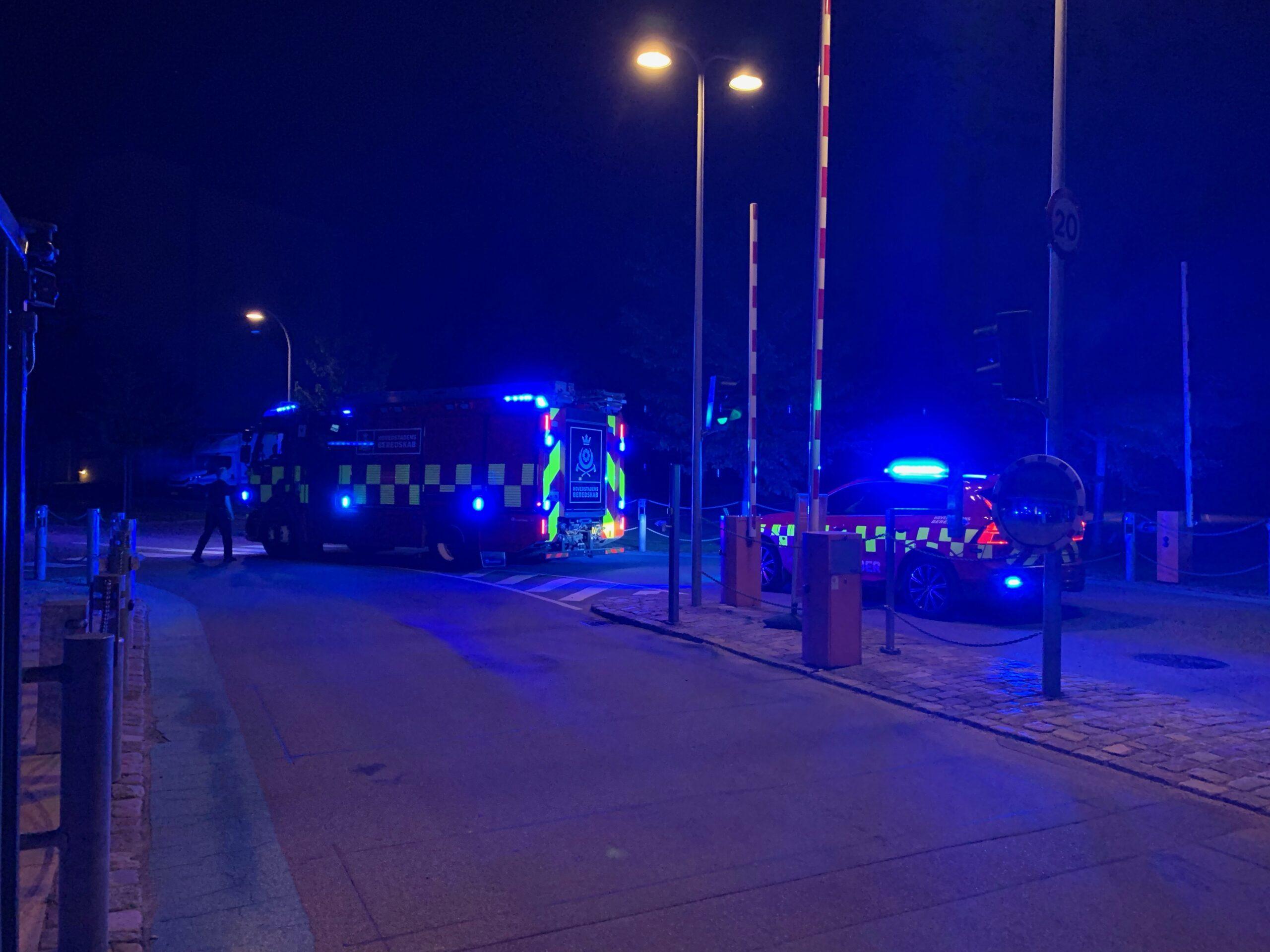 Brandalarm på Ottiliavej i København