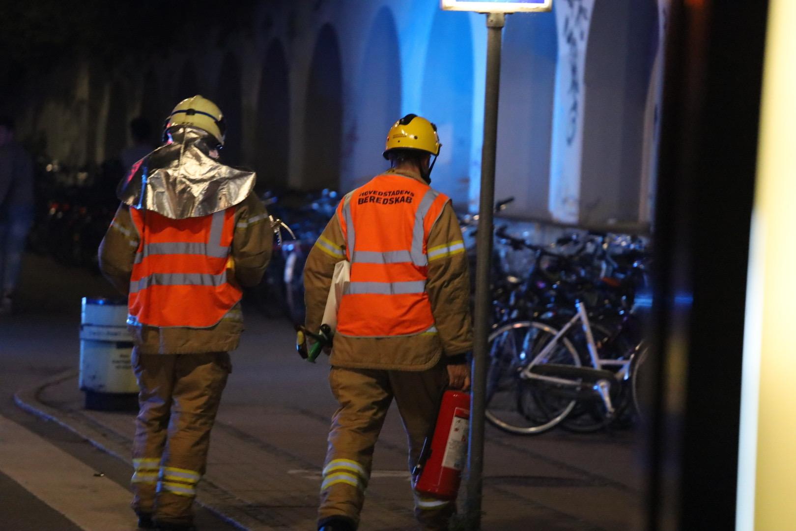 Person påkørt på Nordhavn station