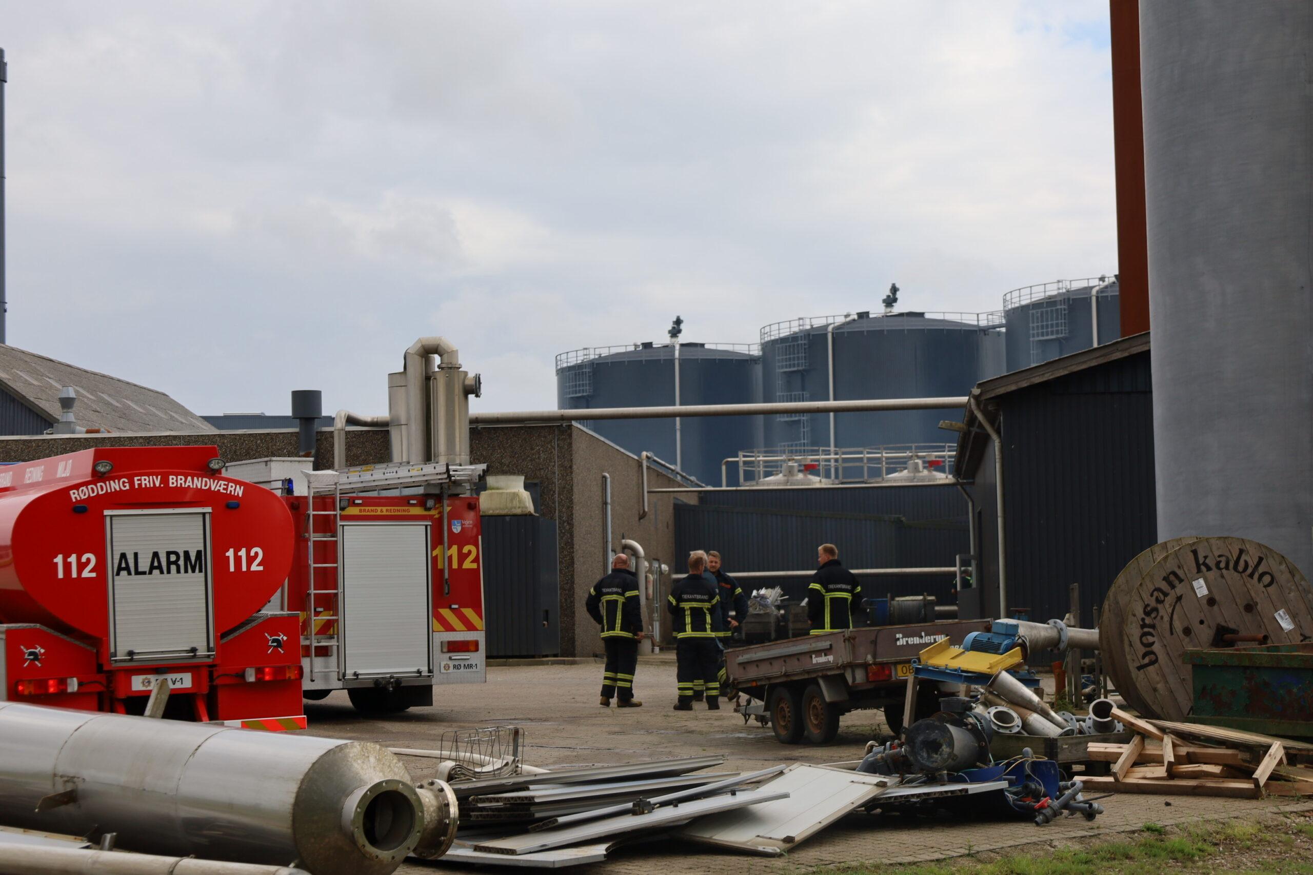 Mindre naturbrand i Lintrup