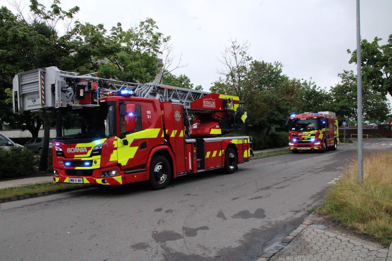 Melding om brand i lejlighed - Roskilde