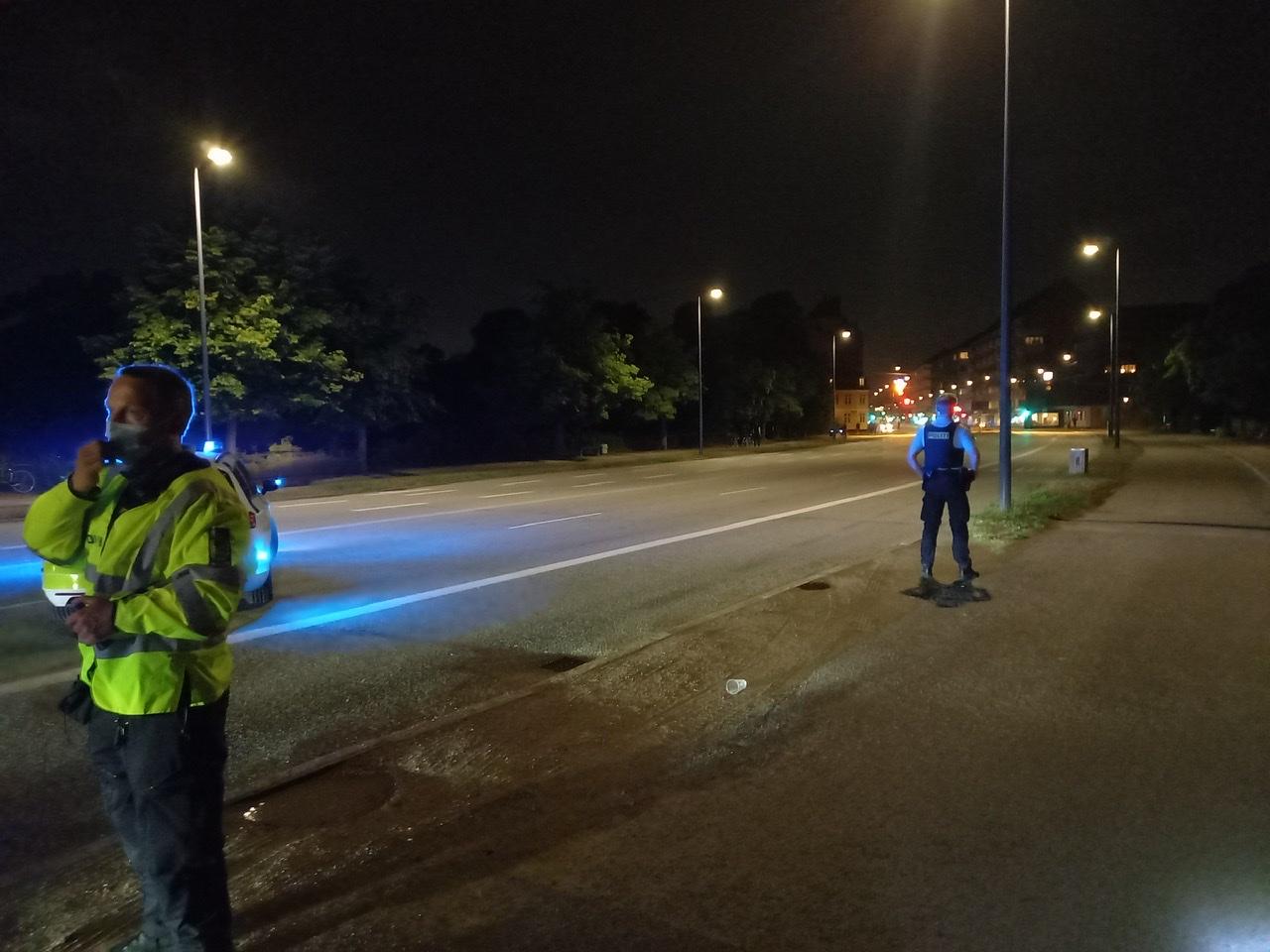 Skyderi i København - kæmpe udrykning