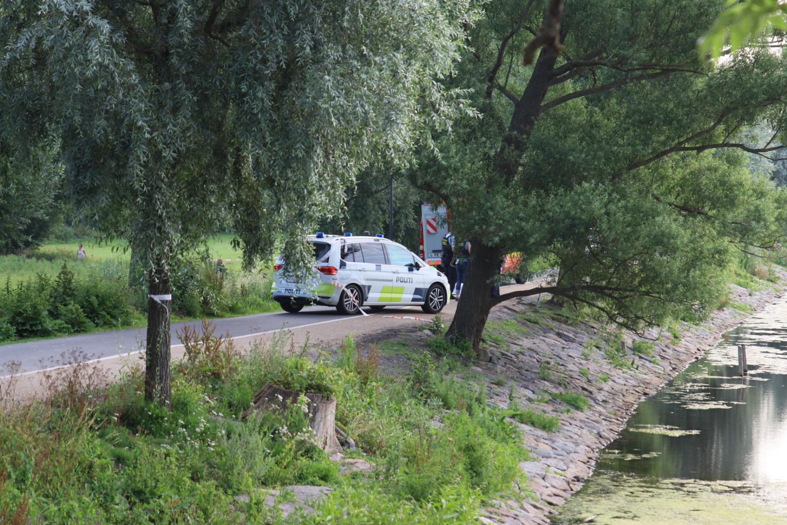 Livløs person fundet ved Damhusdæmningen