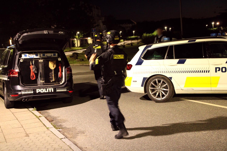 Kæmpe politiaktion i Holbæk