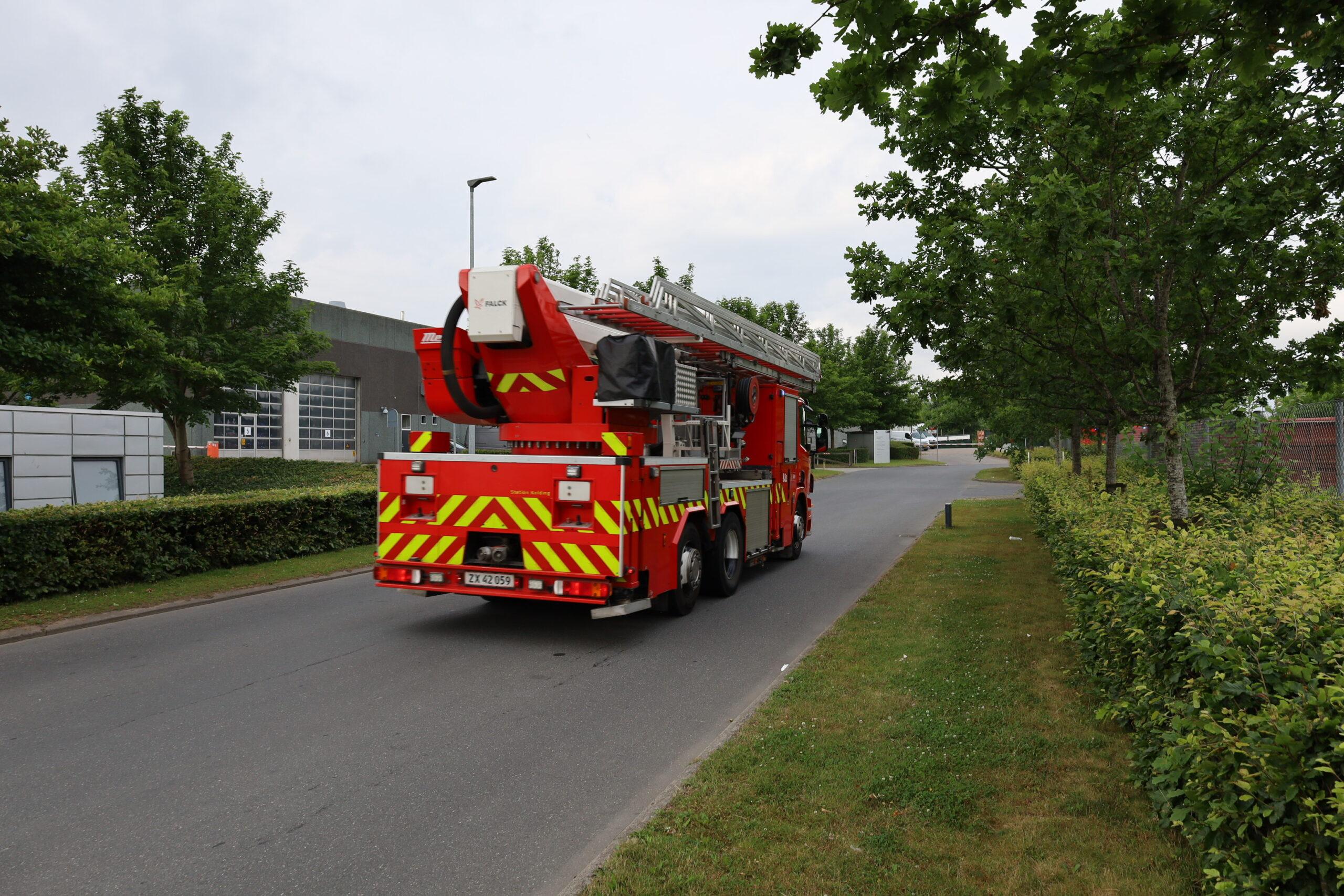 Brand i turbine på Kolding forbrændingsanlæg