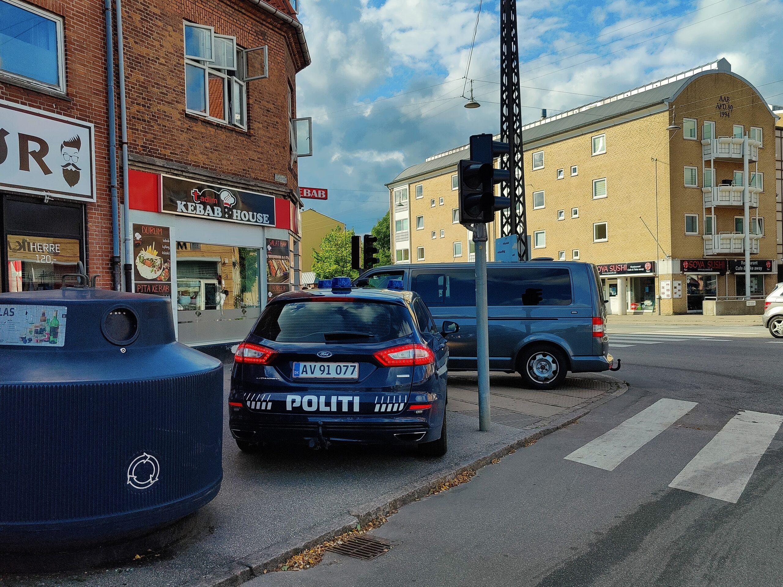 Kæmpe politiaktion i Husum