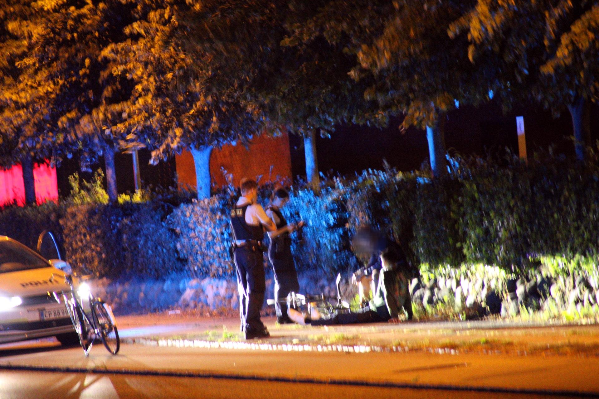 Politiopgave i Roskilde - to patruljer på plads