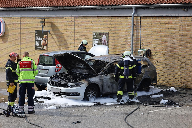 Bilbrand ved Seest i Kolding