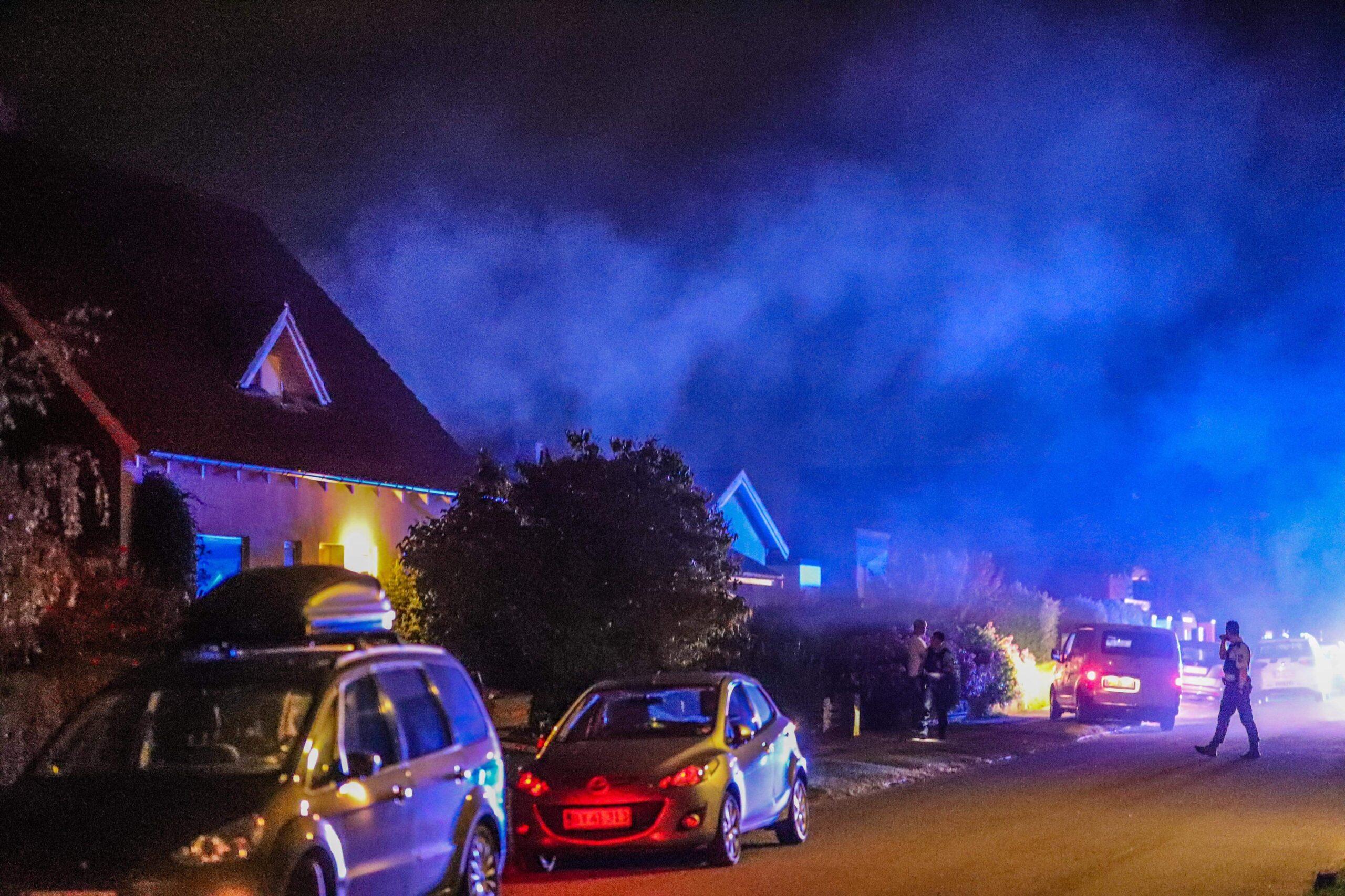 Villa i brand - brandvæsnet sendt til Hvidovre