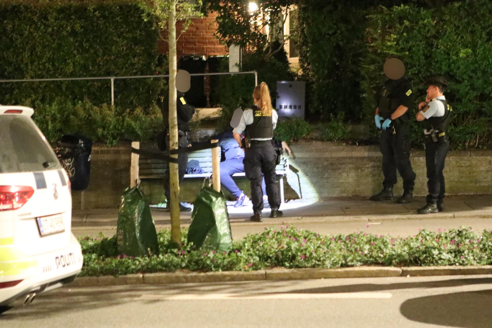 Pistol fundet - flere anholdte