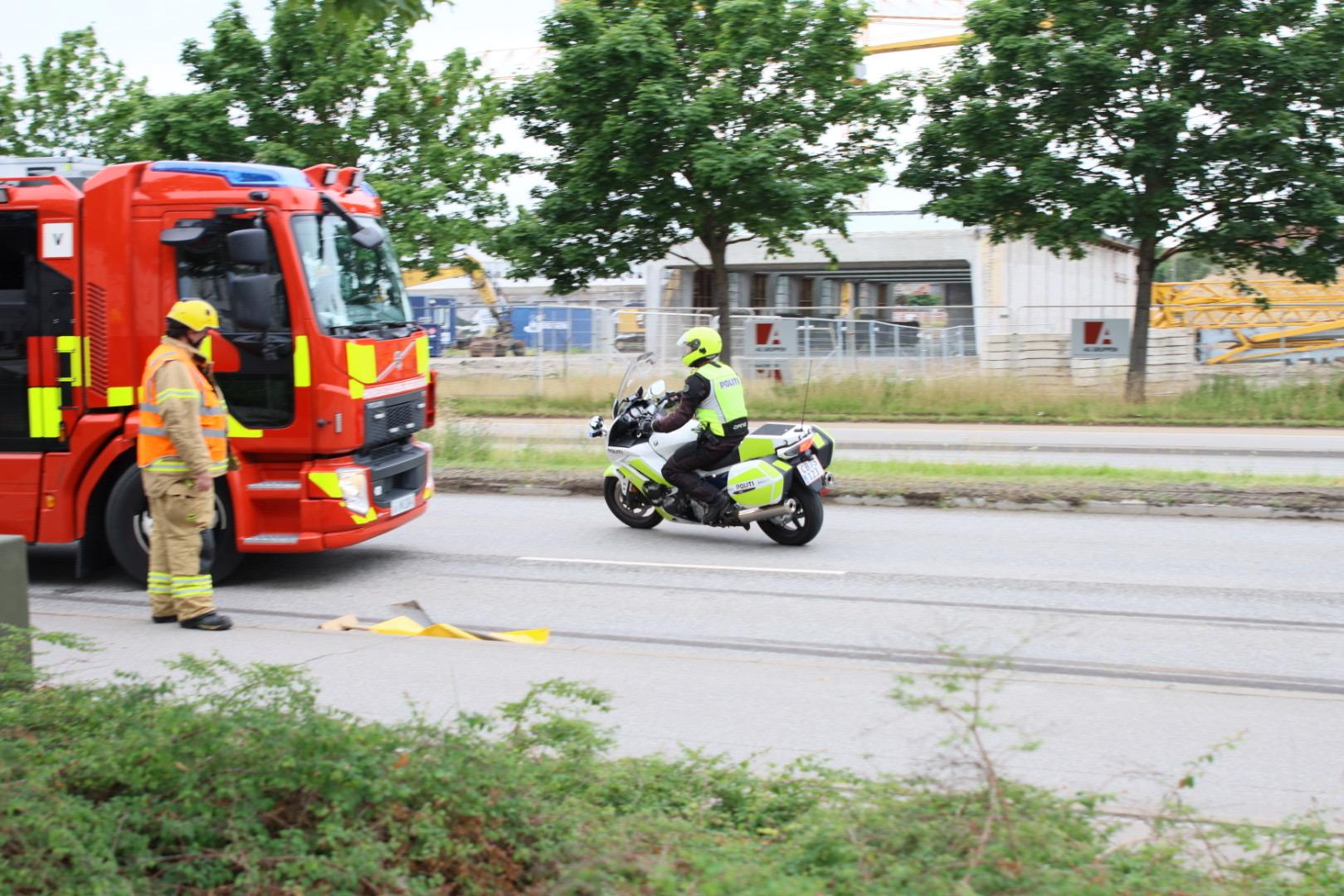 Mindre færdselsuheld i København
